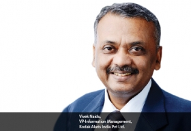 Vivek Naidu, VP-Information Management, Kodak Alaris India Pvt Ltd